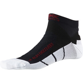 X-Socks Run Discovery Calcetines Hombre, negro